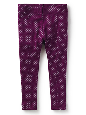 Tea Collection Ravello Dot Baby Leggings Cosmic Berry (Girls)