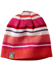 SmartWool Kids Bootie Hat Bright Coral