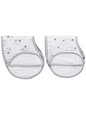 aden + anais Classic Burpy Bibs Twinkle 2-pack