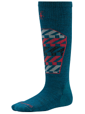 SmartWool Boys Ski Racer Deep Sea