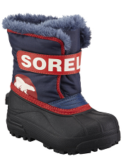 Sorel Snow Commander Nocturnal Sail Red