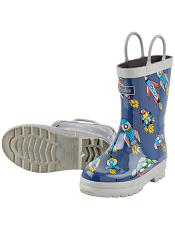 Hatley Retro Rocket Rain Boots