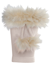 Country Kids Boot Cuffs Ivory O/S