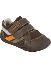 pediped Grip 'n' Go Charleston Chocolate Brown