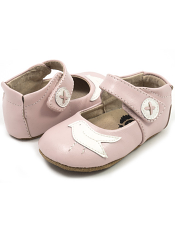 Livie & Luca Pio Pio Light Pink (Baby Soft Sole)