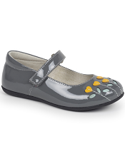 Kai by See Kai Run Tricia Gray Patent/Yellow