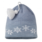 SmartWool Kids Snowfall Hat Steel Blue