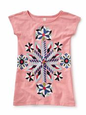 Tea Collection Rainbow Rays Graphic Dress (Girls)