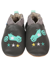 Robeez Motorcycle Cool Soft Soles