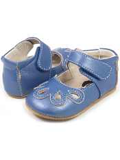 Livie & Luca Petal Cobalt Blue (Baby Soft Sole)