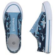 "Hatley ""Shark Attach!"" Sharks Canvas Shoes"