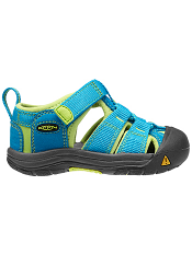 KEEN Newport H2 Hawaiian Blue/Green Glow Tots