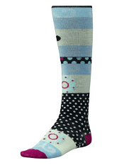 Smartwool Tap Dot Kneehigh Black