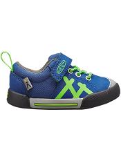 KEEN Encanto Sneaker True Blue/Jasmine Green (Toddler)