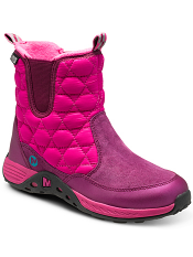 Merrell Jungle Moc Quilted Boot Waterproof Berry