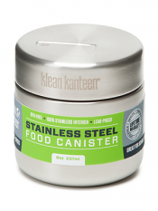 Klean Kanteen 8oz Food Canister Brushed Stainless