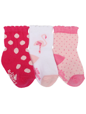 Robeez 3pk Socks Little Lola