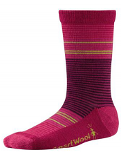 SmartWool Girls Thinscape Stripe Punch