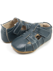 Livie & Luca Captain Vintage Blue (Baby Soft Sole)