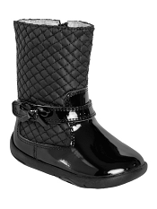 pediped Grip 'n' Go Naomi Black Boot
