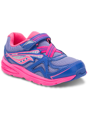 Saucony Baby Ride Periwinkle/Pink (Toddler/Kids)