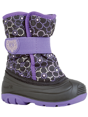 Kamik Snowbug4 Black/Purple Toddler