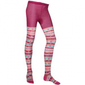 Smartwool Funky Fairisle Tights Berry