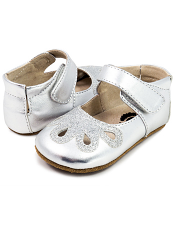 Livie & Luca Petal Platinum (Baby Soft Sole)
