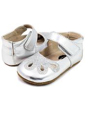Livie & Luca Petal Platinum (Baby Soft Sole)