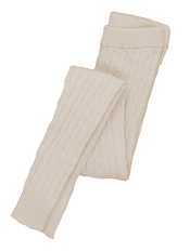 Hatley Cable Knit Tights Cream