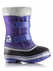 Sorel Children's 1964 Pac Strap Boot Purple Lotus/Sky Blue