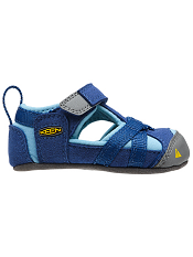 KEEN Seacamp True Blue/Blue Grotto (Baby Soft Soles)