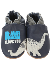 Robeez Dylan The Dino Navy (Soft Soles)