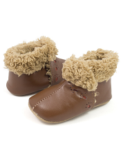 Livie & Luca Grizzly Toffee Soft Sole