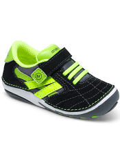 Stride Rite SRT Soft Motion Jason Black/Lime