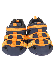 Robeez Mini Shoez Beach Break Navy/Orange